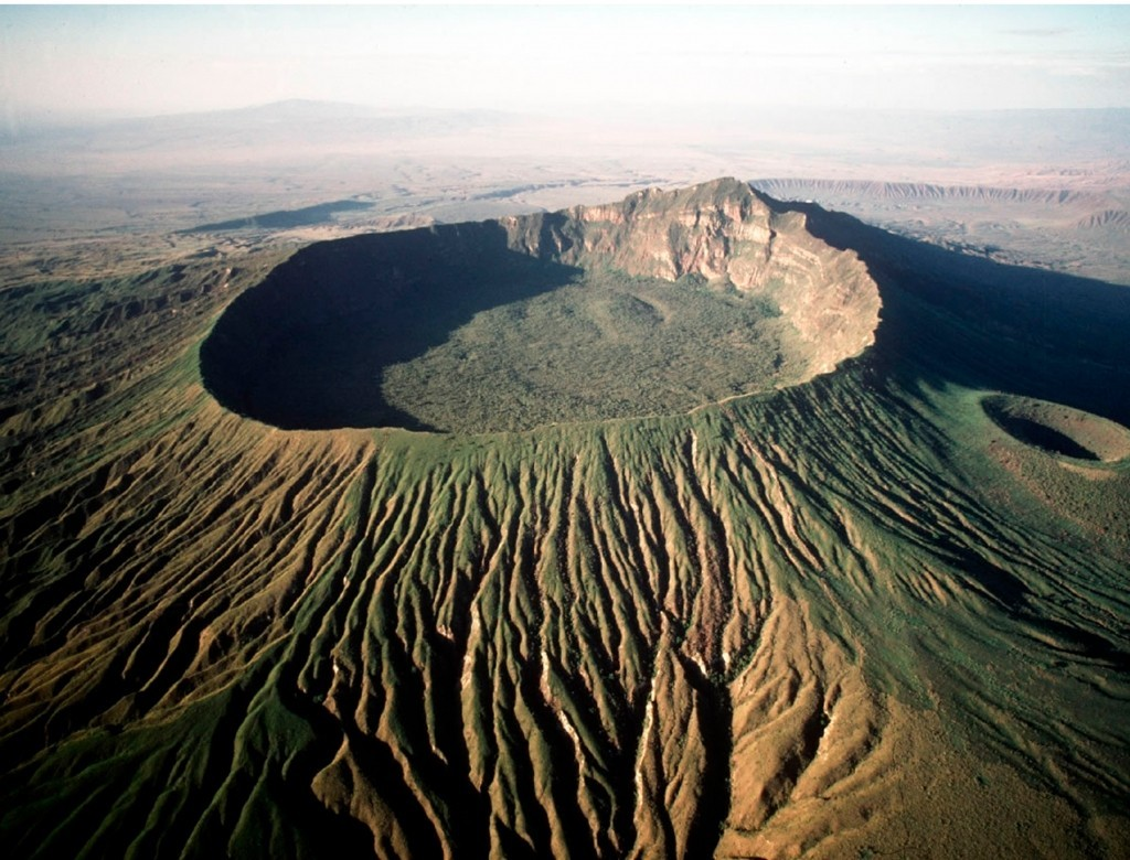 volcan longonot, nairobi, kenia