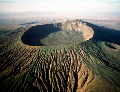 Volcán Longonot y lago Naivasha