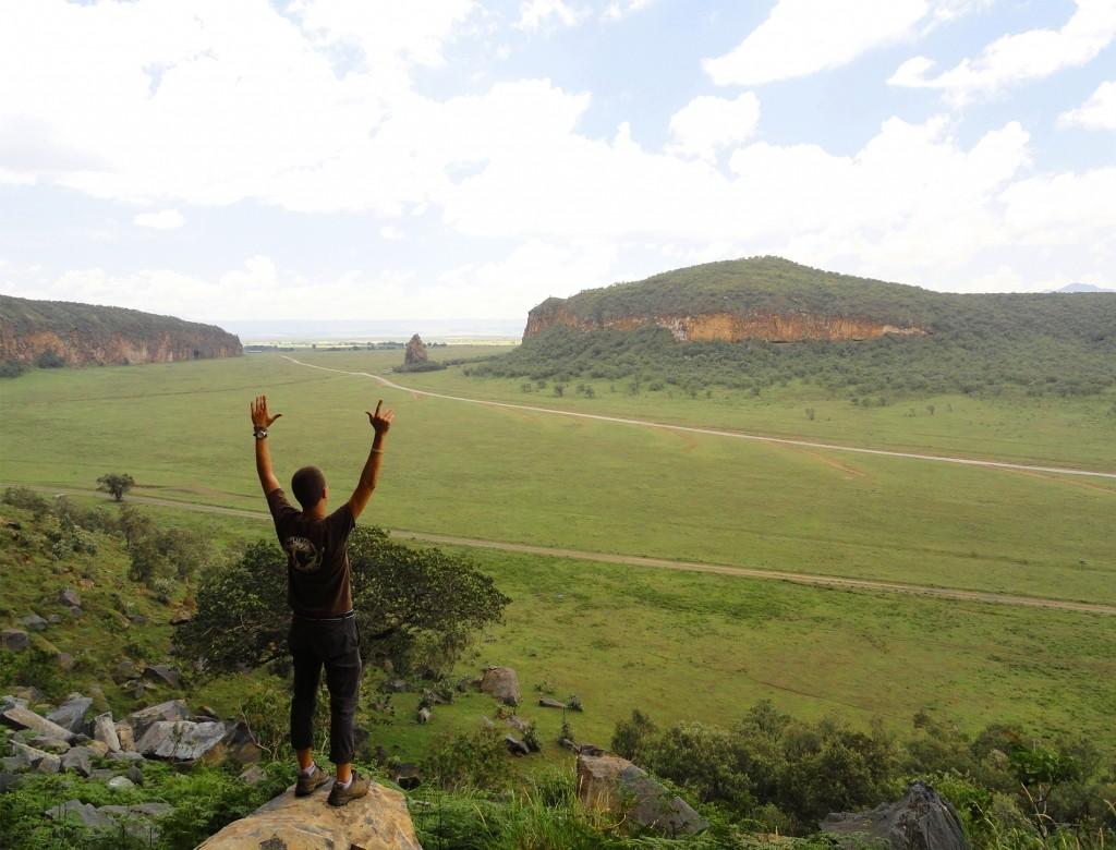 vistas del parque nacional de hells gate, kenia