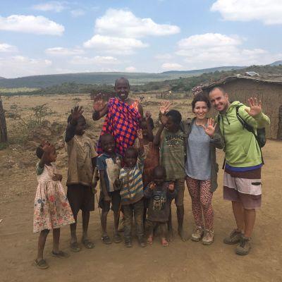 aldea masai en suswa town, kenia