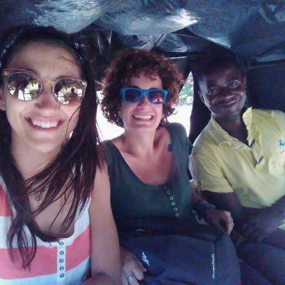 trayecto en tuktuk, diani, kenia