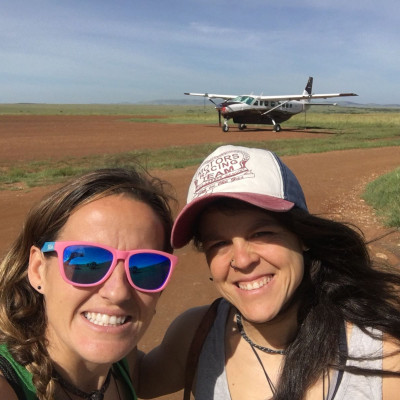 aeródromo en masai mara, kenia