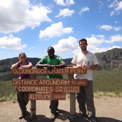 excursión al volcan longonot, kenia