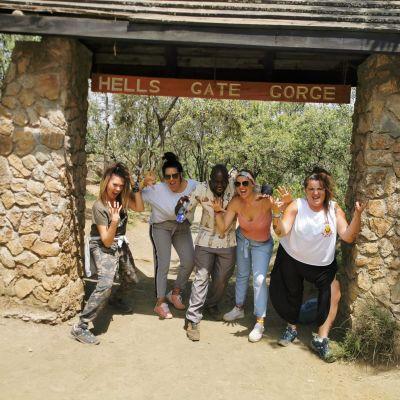 parque nacional de hells gate, kenia