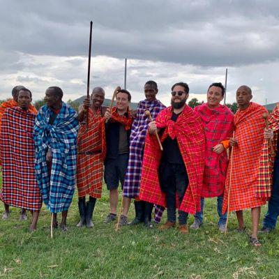 grupo de mexicanos en el masai mara
